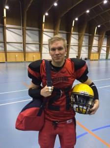 Wildmen-ottelun  MVP Alex Harju